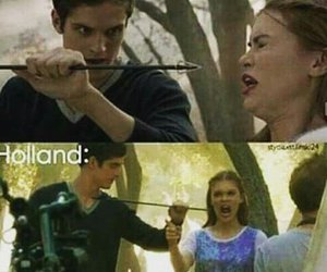 lydia martin, holland roden, and teen wolf image