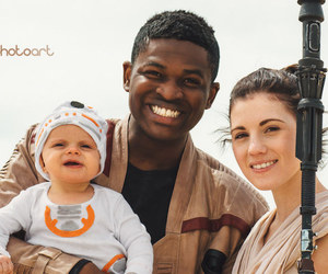 baby, star, and couple image