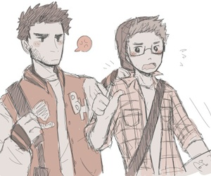 wolf, sterek, and teen wolf image