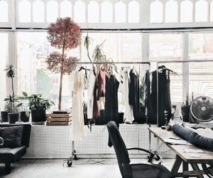 decor, black, and clothes image