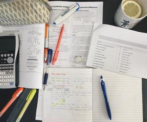 studying and studyblr image