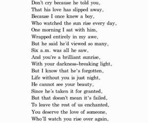beautiful, poem, and love image