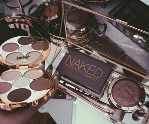 makeup, naked, and cosmetics image