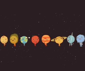 planets and galaxy image