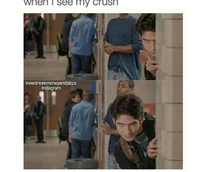 teen wolf, crush, and funny image