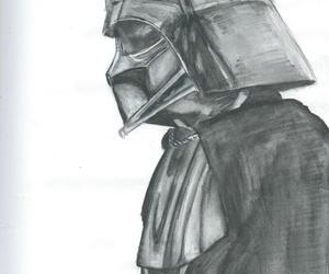Anakin Skywalker, art, and darth vader image