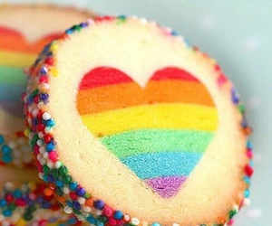 sweet, heart, and food image