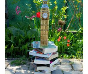 Big Ben, book, and books image
