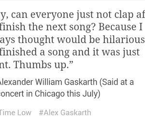 alex gaskarth, all time low, and atl image