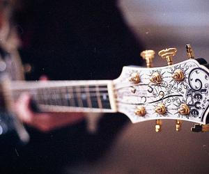 guitar, love, and beautiful image