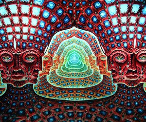 psychedelic, tool, and alex grey image