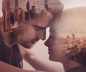 allegiant, divergent, and four image