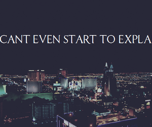 city, vegas, and text image