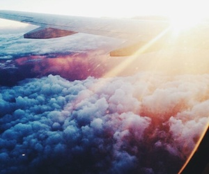 adventure, clouds, and fashion image