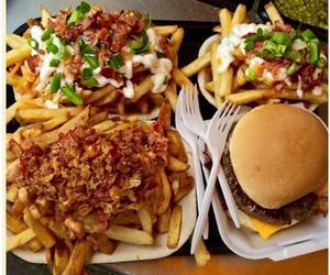 eat, food, and fries image