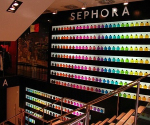 sephora, colors, and make up image