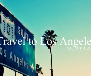 los angeles and travel image