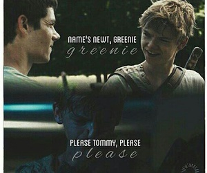 newt, quotes, and thomas brodie sangster image