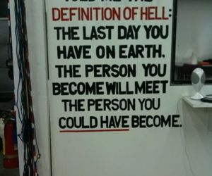 hell, quote, and life image