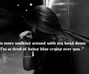 alone, broken, and cry image