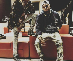 chris brown and august alsina image