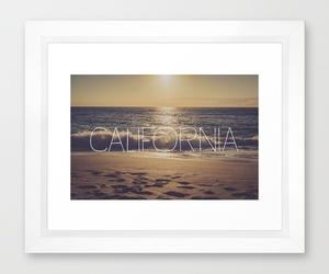beach, california, and decor image