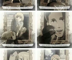 anime, sad, and snk image