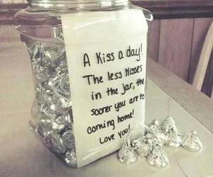 kiss, gift, and love image