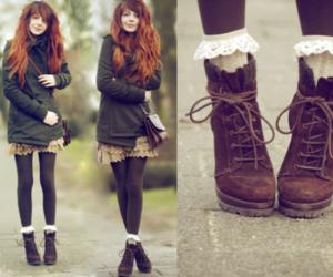 fashion, girl, and nadia esra image