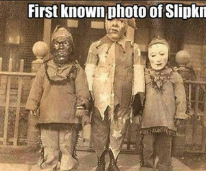 Halloween, costume, and creepy image