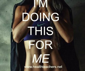 fit, girl, and quotes image