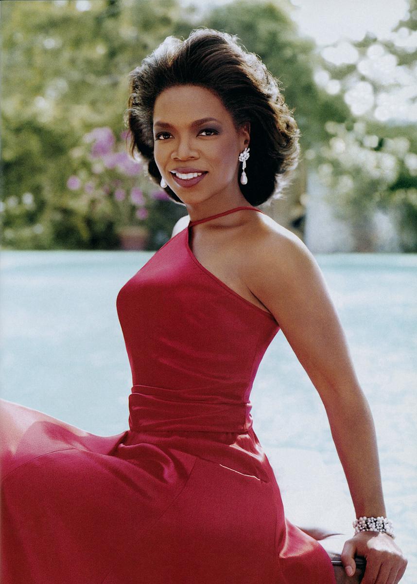 black girl and oprah winfrey image
