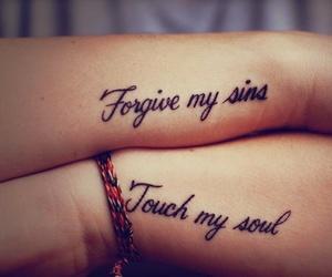 tattoo, forgive, and soul image