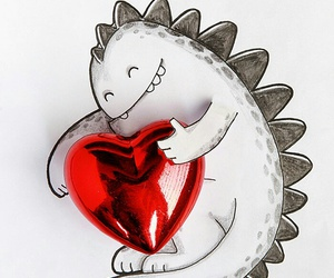 cute and love dragon image