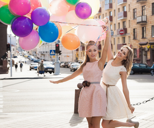 balloons, friends, and friendship image