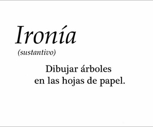 word and ironía image