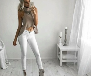 heels, shoes, and top image