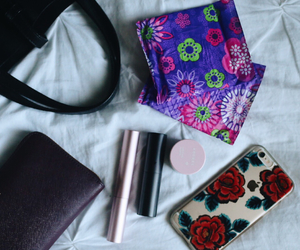girl, purse, and tampax image