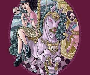 melanie martinez, carousel, and art image