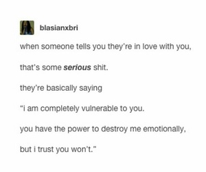 tumblr, text post, and love image