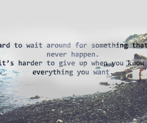 quote, hard, and text image