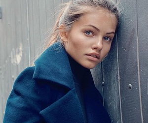 thylane blondeau and model image