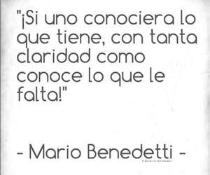 mario benedetti, frases, and quote image