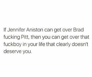 brad pitt, Jennifer Aniston, and stay strong image