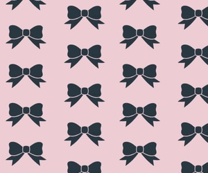 pink, wallpaper, and bow image