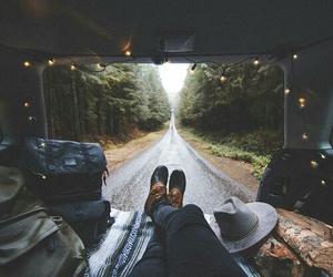 travel, adventure, and light image