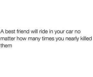 best friend, bffs, and car image