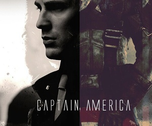 captain america, steve rogers, and chris evans image