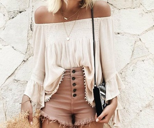 bohemian, clothes, and fashion image
