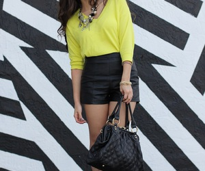 ankle boot, citrus, and yellow image